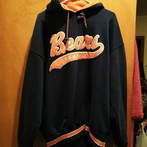 online store 567b3 13b6c Vintage Starter NFL Chicago Bears hoodie